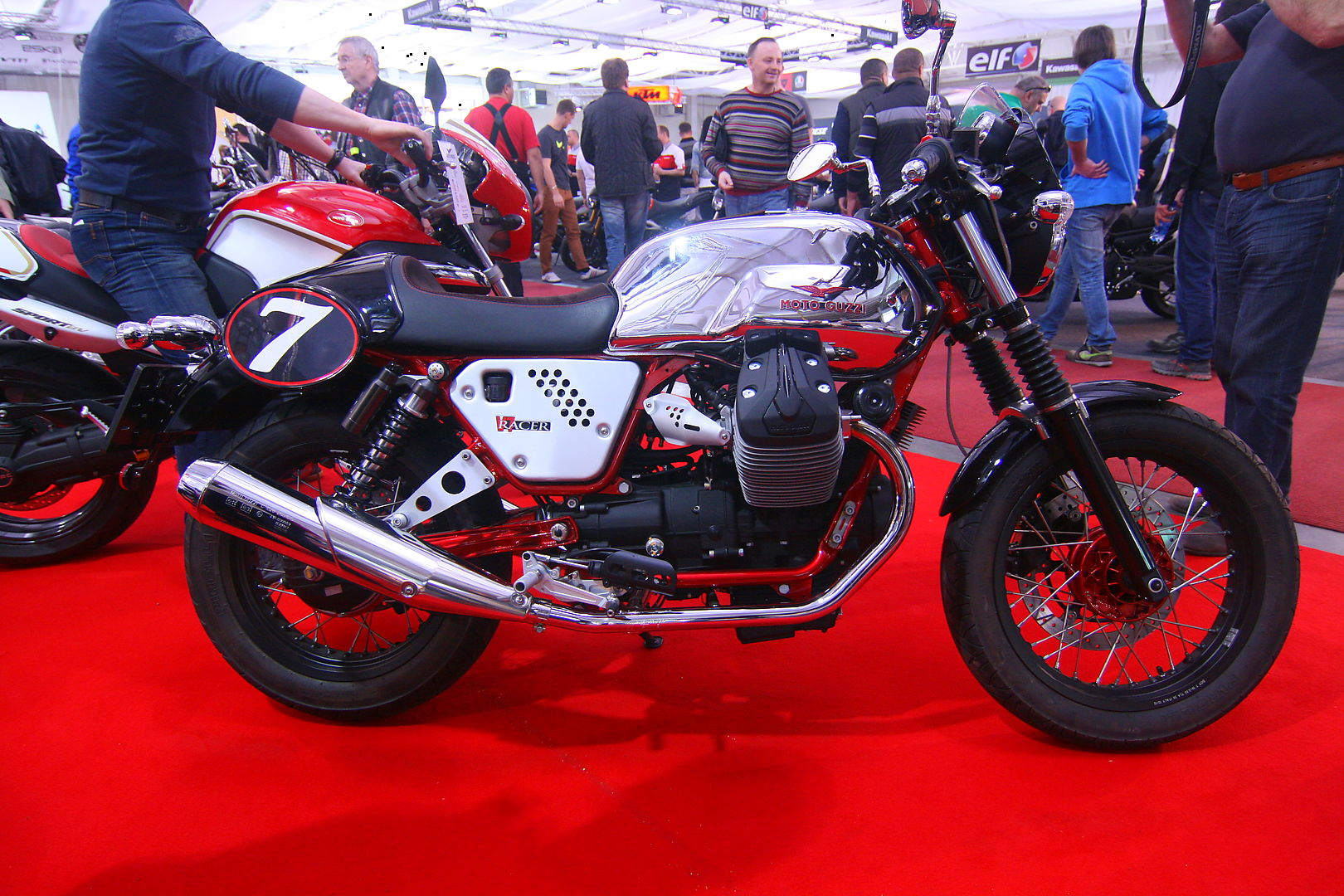 Moto Guzzi V& Racer